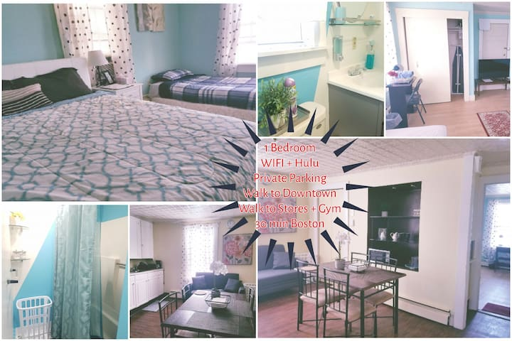 ✨Lowell 1Br✨ Downtown♦Private Parking
