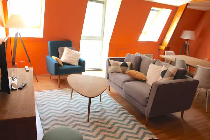 Design apartment 5pers +Parking lot