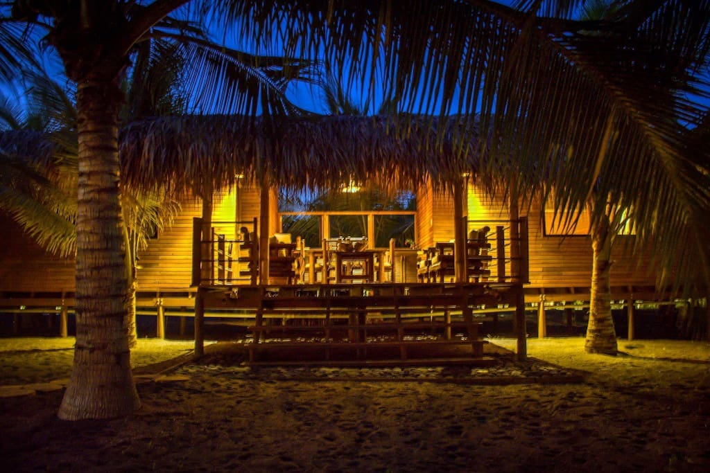 Each Plantation Suite is nestled amid beautiful coconut trees and lush vegetation