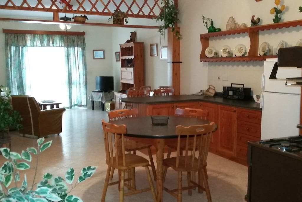 Kitchen / Living / Dining area
