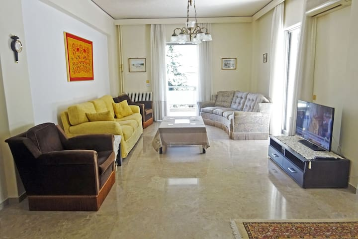 Spacious and Comfortable Apartment in Athens