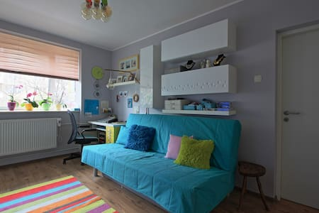 Colourful apartment in Oradea