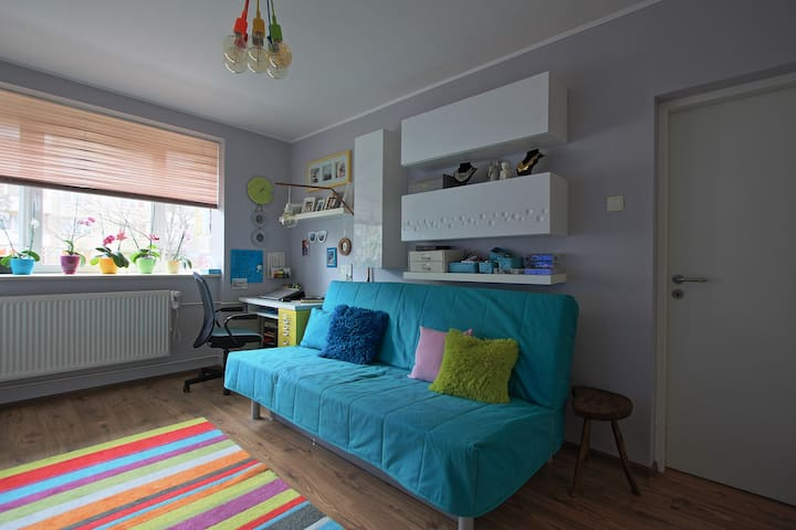 Colourful apartment in Oradea