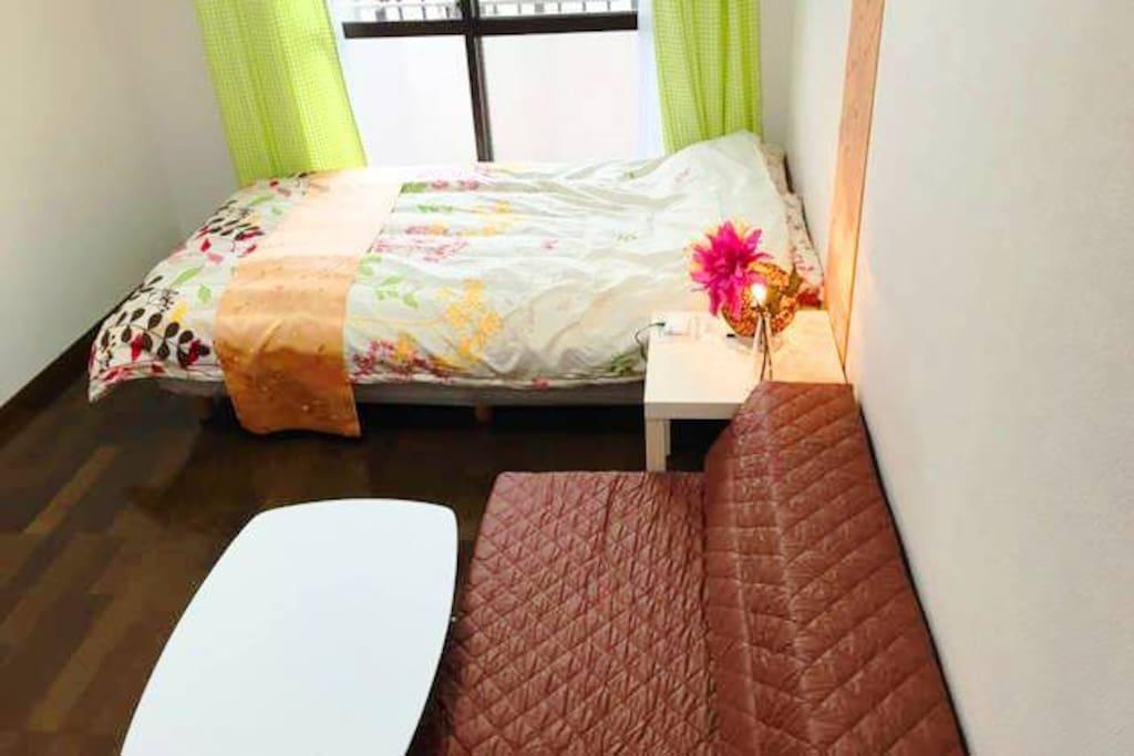 陽当り良好。明るい部屋です! Sunny. It is a bright room! 햇빛이 잘 드는. 밝은 방입니다!