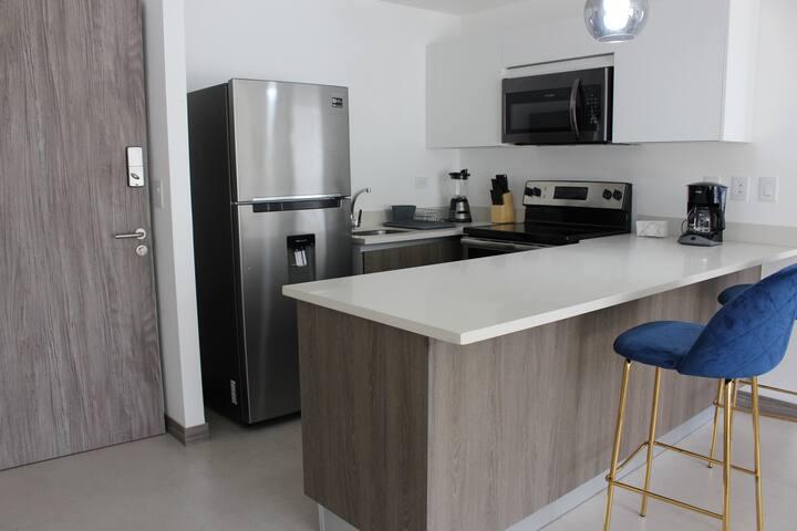 Modern apartment in Escazú