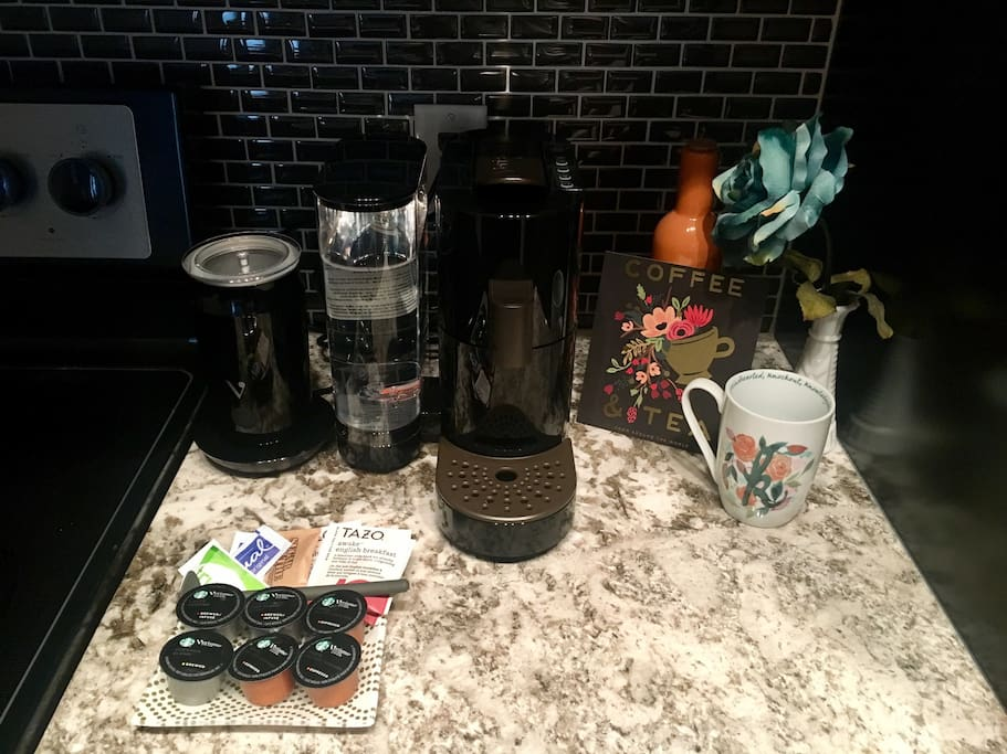 Starbucks Verismo brewer - the perfect morning pick me up!