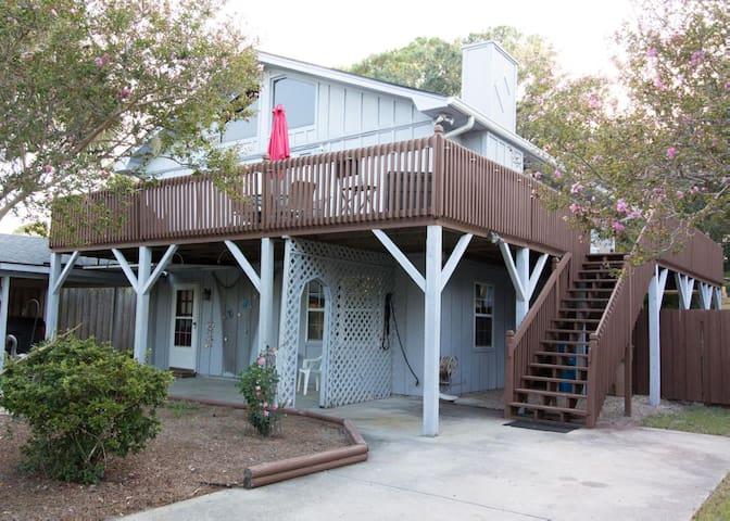 "Pet-friendly & ""beachy."" The perfect Tybee Island getaway."