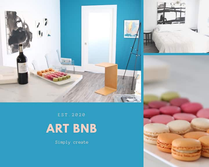 "Muse Art House ""Art BnB"""
