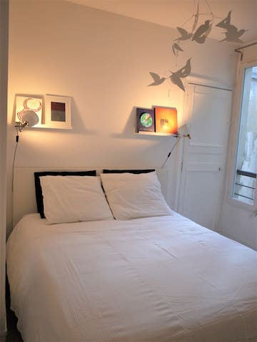Cozy Room with Private Salon