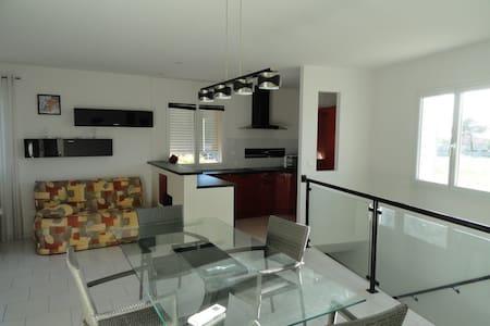 Appart 80m² proximité de Nîmes dans maison indivi - Saint-Gervasy