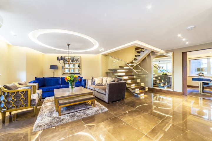 Magnificent House with Terrace, close to Hyde Park