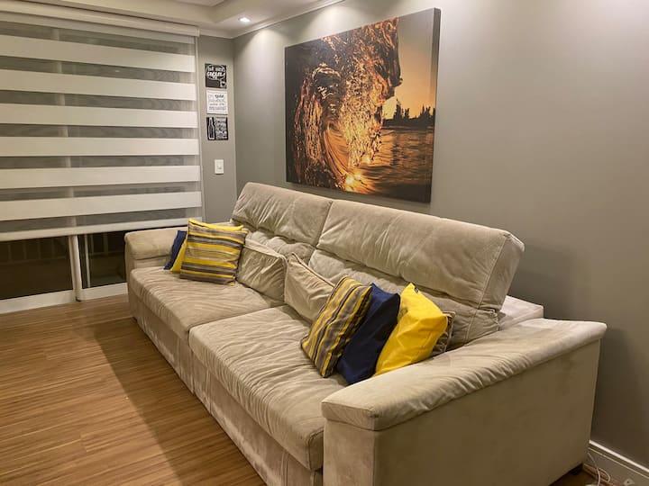 Apartamento 3 dormitórios super confortável ❤️