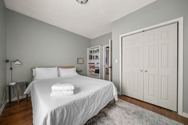 In Bedroom #1 you will find books, board games, bocce ball set,  and a disc golf set for the course behind the house.