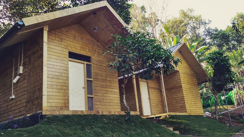 The Riders Club Artcafe (Wooden Cottages) - Munnar - Penzion (B&B)