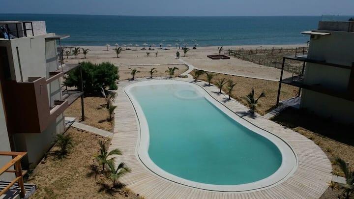 Sea View Apartment in Zorritos - Tumbes