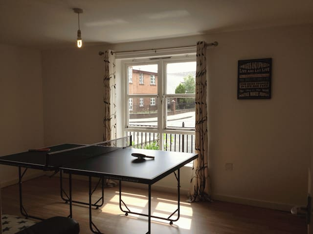 Large 3 Bed Ground Floor Flat Near City Centre - Manchester