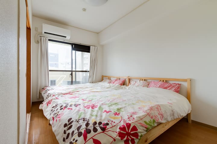 USJ,Nanba near.10persons 4Bet room - Chuo-ku, Osaka-shi  - Apartament