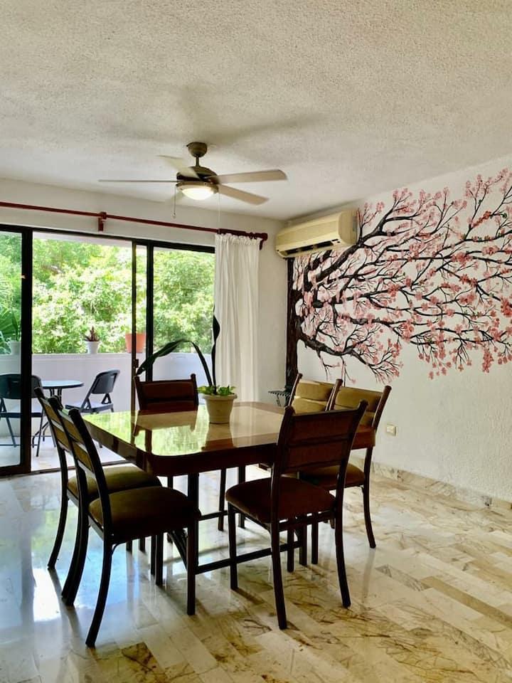 Habitación Cancun céntrica 1