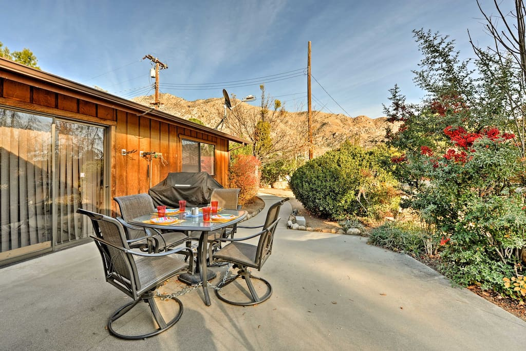 You'll have incredible mountain views from the private backyard patio.