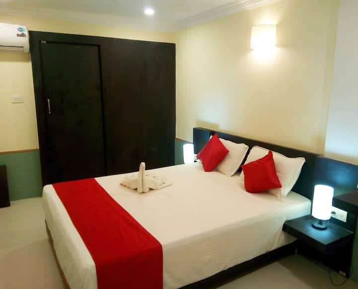 Budget Family Rooms  In Center Of Calangute RC