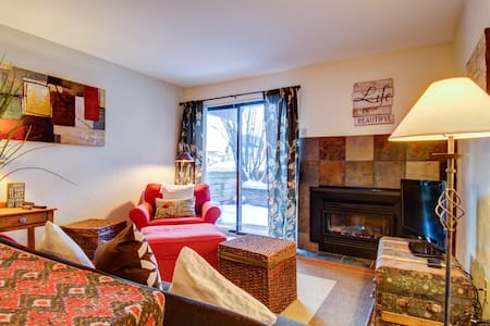 Cozy Condo Steps from Beaver Creek Ski Resort - Avon - Osakehuoneisto