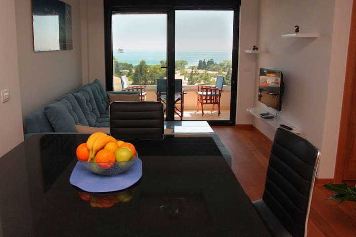 Lux apartment with beautiful view near beach