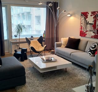 Modern Apartment in the Design District, Helsinki