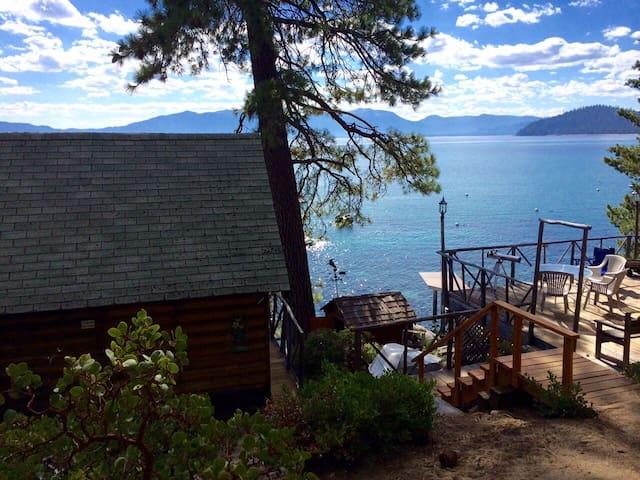 Lakefront Log Cabin - Meeks/Rubicon Bay-Tahoma, CA