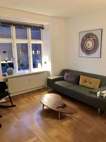 Cosy and bright apartment in Norrebro