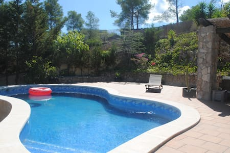 Quiet villa with pool and spectacular views - Olivella - Ev