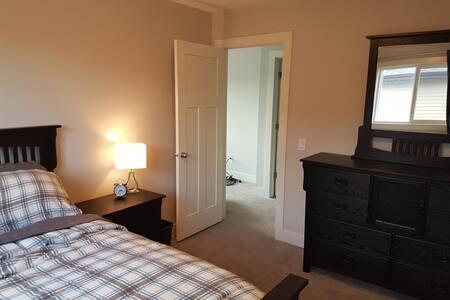 Clean, New, Cozy Bedroom