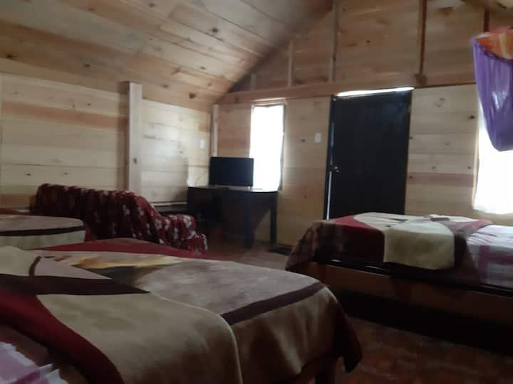 Cabaña Paraíso Tziscao | 3 | para 6 personas