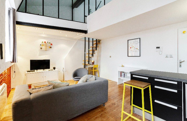 Appartement atypique hyper centre
