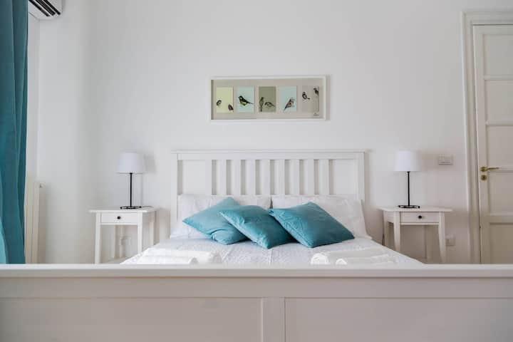 Spaziosa e confortevole camera in pieno centro