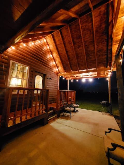 Cabaña de campo con estanque Guesthouse