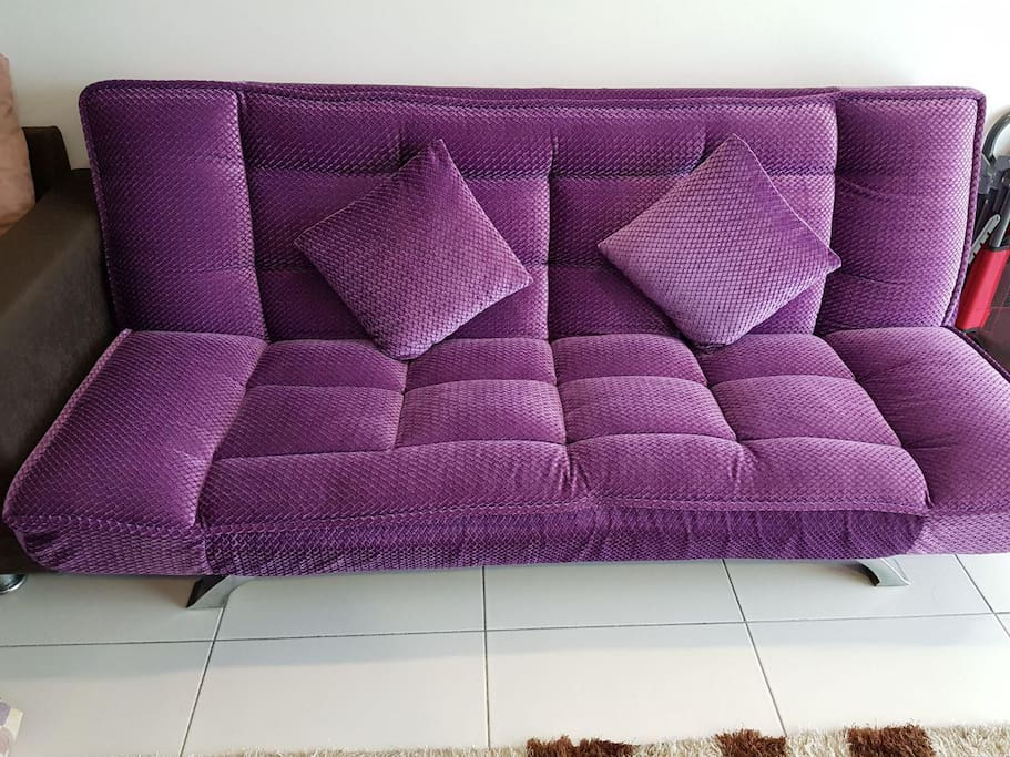 Sofa Bed at Living Area