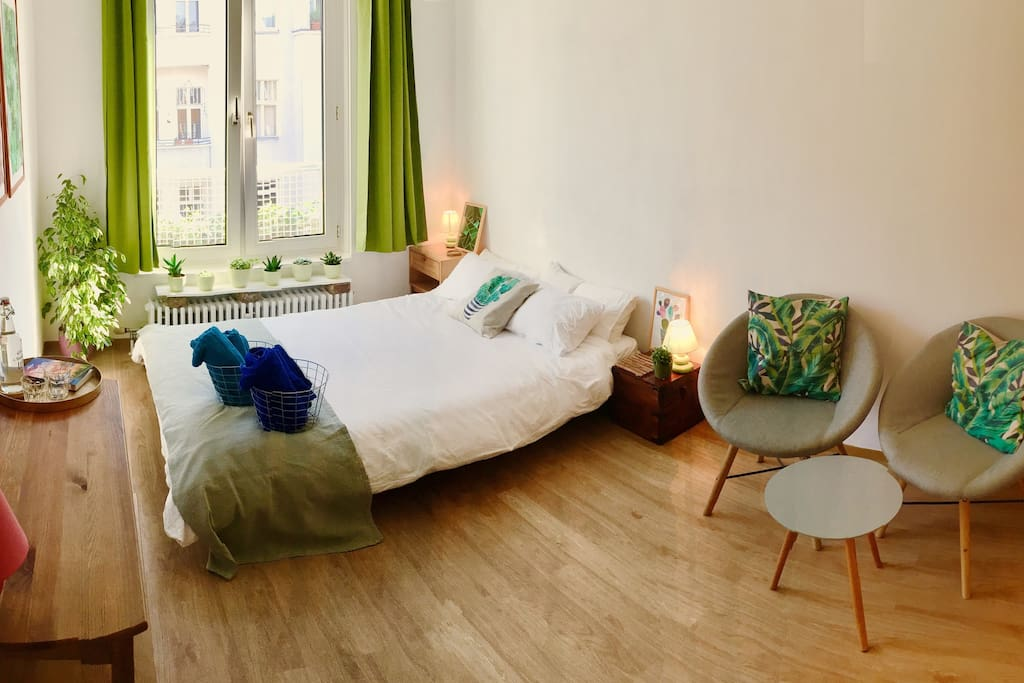 Your sunny cozy room
