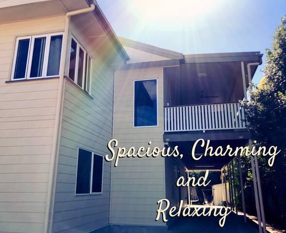 Spacious, Charming & Relaxing Modern Queenslander