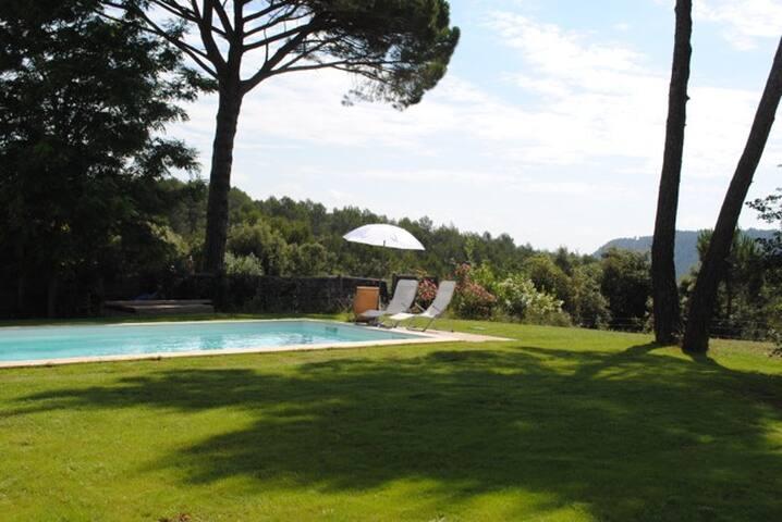 Villa près du parc du Verdon, piscine et jardin - Sillans-la-Cascade - Willa