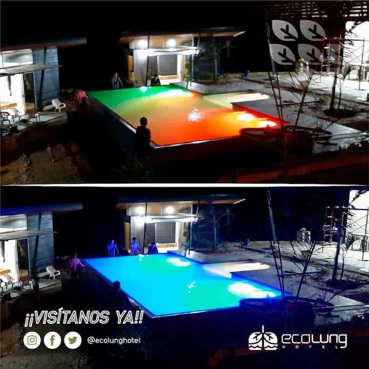 Eco Lung Hotel Montezuma CR