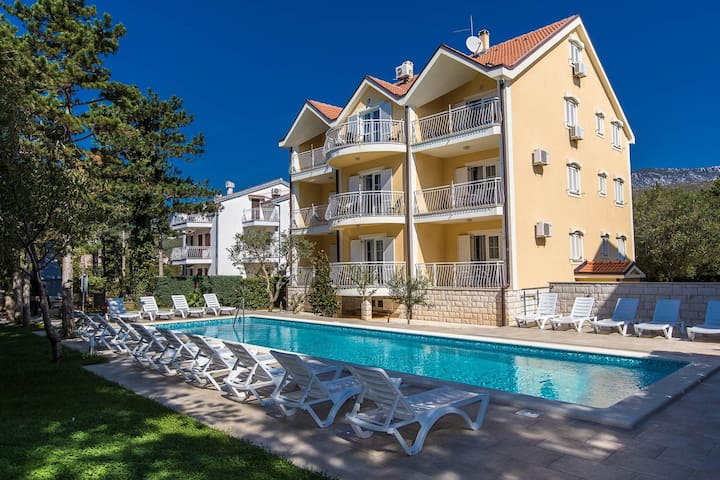 Apartments Ljiljana / One bedrooms A3 - Jadranovo - Huoneisto
