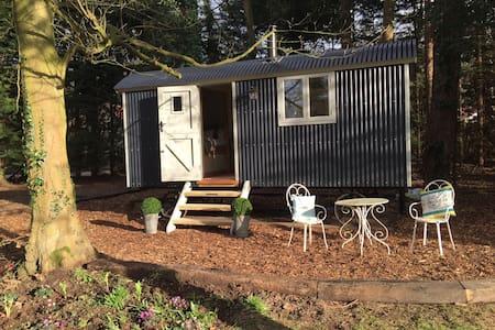 Luxury Shepherd's Hut inc Bathroom - High Kelling - Barraca