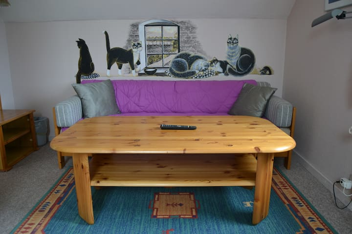Double room 1 in a 3-rooms-flat with own entrance - Sønderborg - Lejlighed
