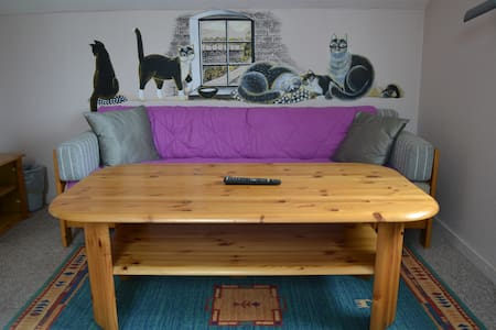 Double room nr.1 in a 3-rooms-flat w/ own entrance - Daire
