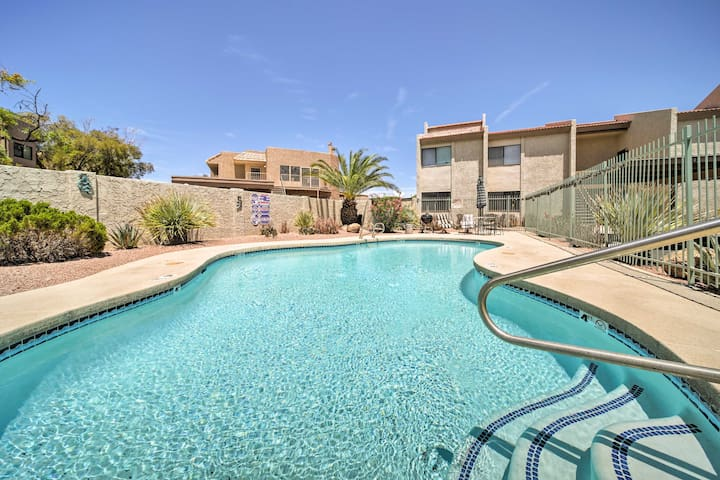 NEW! Fountain Hills Condo w/Pool Mins to Downtown!