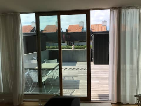 Maritim lejlighed, Ebeltoft, Danmark