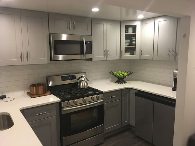 Modern 1 BDR - Recently renovated kitchen & bath.