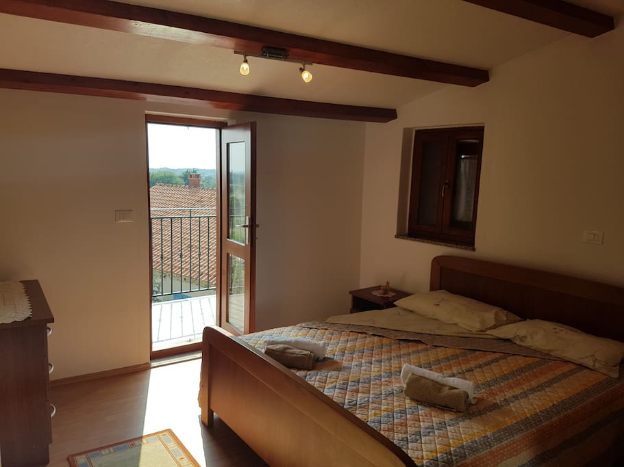 the double room with terrace