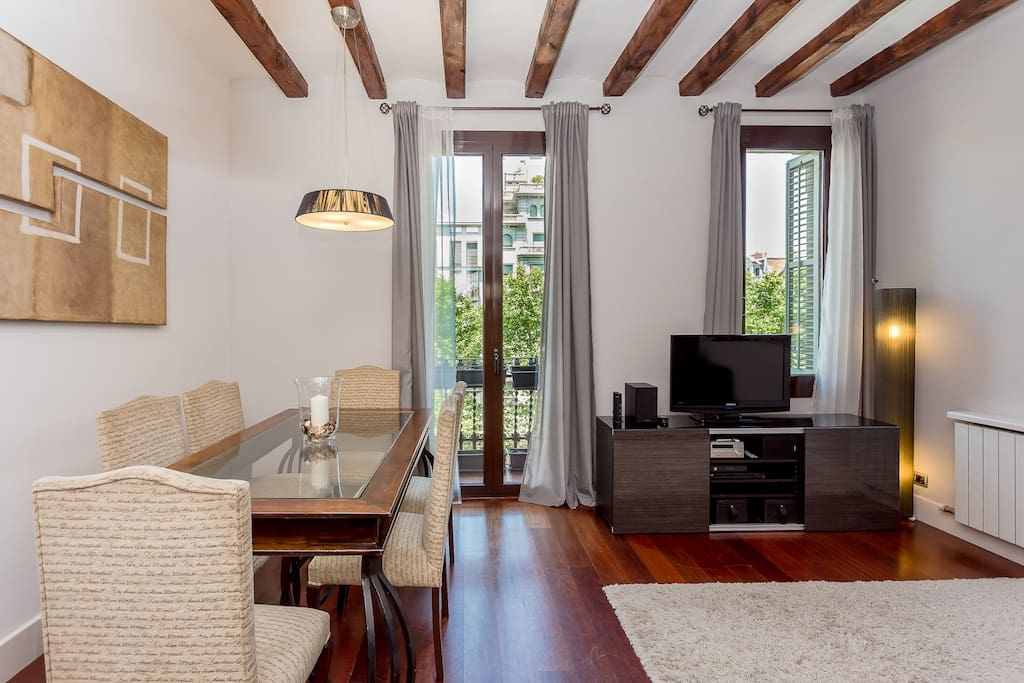 living room city center barcelona charming 3 bed apartment in the city center apartments 20097