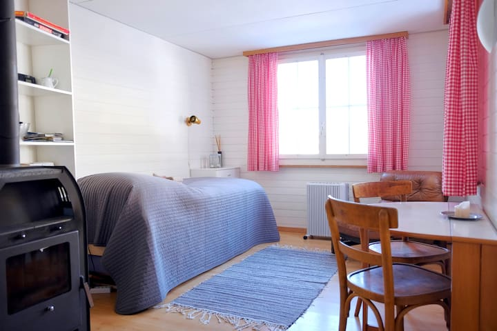 Cosy Studio for Two - Ski-in, Ski-out! - Wengen - Apartment